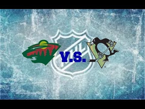 Minnesota Wild vs. Pittsburgh Penguins at Xcel Energy Center