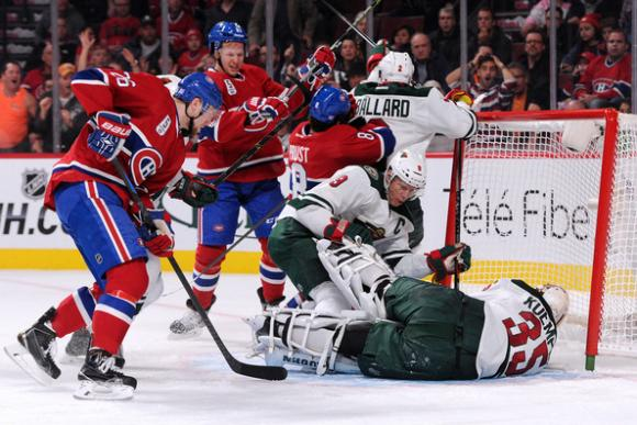 Minnesota Wild vs. Montreal Canadiens at Xcel Energy Center