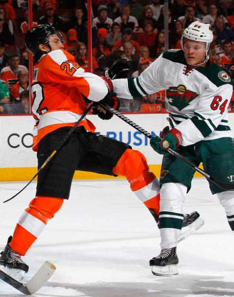 Minnesota Wild vs. Philadelphia Flyers at Xcel Energy Center