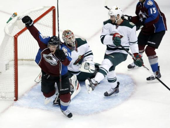 Minnesota Wild vs. Colorado Avalanche at Xcel Energy Center