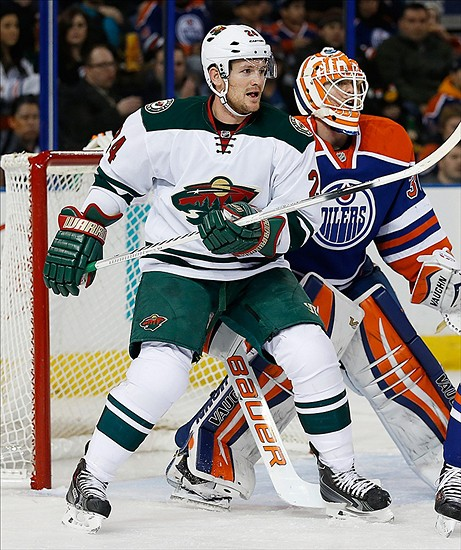 Minnesota Wild vs. Edmonton Oilers at Xcel Energy Center