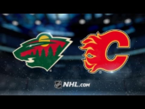 Minnesota Wild vs. Calgary Flames at Xcel Energy Center