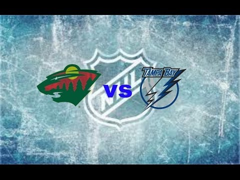 Minnesota Wild vs. Tampa Bay Lightning at Xcel Energy Center