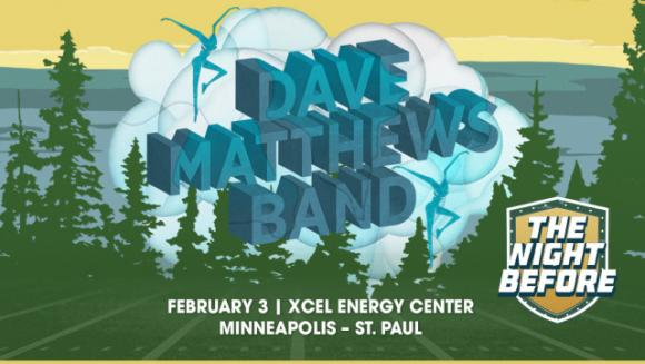 The Night Before: Dave Matthews Band at Xcel Energy Center