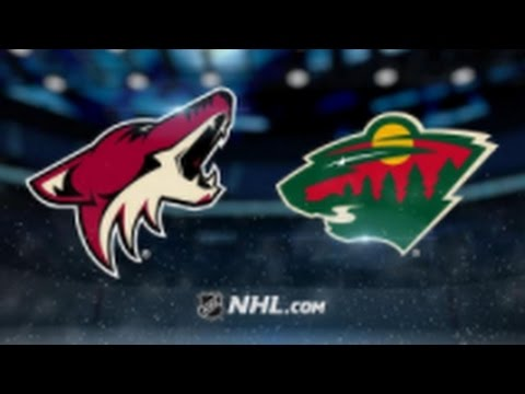 Minnesota Wild vs. Arizona Coyotes at Xcel Energy Center