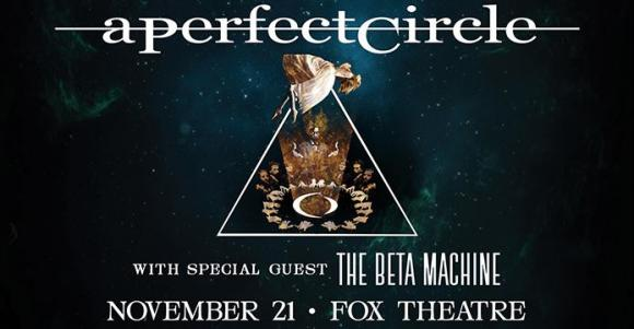 A Perfect Circle & The Beta Machine at Xcel Energy Center