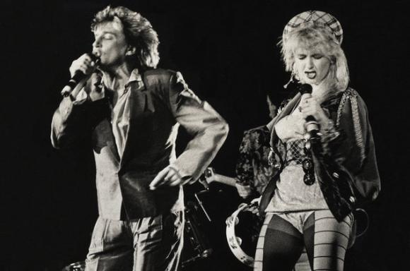 Rod Stewart & Cyndi Lauper at Xcel Energy Center