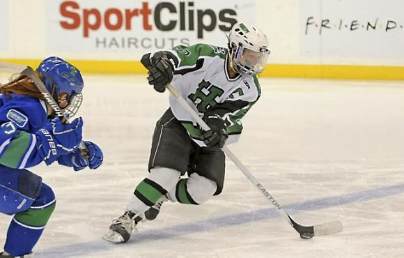 Minnesota State High School Girls' Class A Hockey Tournament at Xcel Energy Center