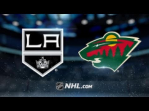 Minnesota Wild vs. Los Angeles Kings at Xcel Energy Center