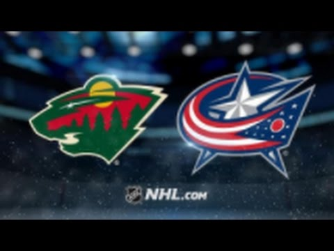 Minnesota Wild vs. Columbus Blue Jackets at Xcel Energy Center