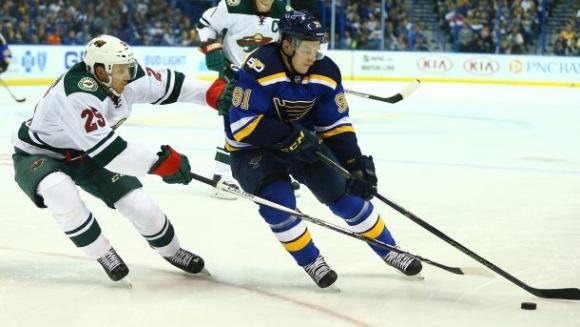 Minnesota Wild vs. St. Louis Blues at Xcel Energy Center