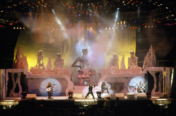 Iron Maiden at Xcel Energy Center