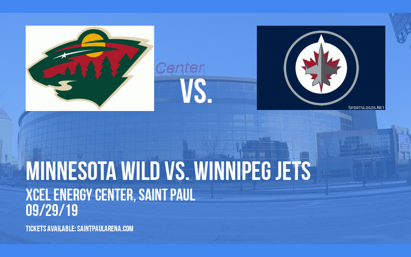 NHL Preseason: Minnesota Wild vs. Winnipeg Jets at Xcel Energy Center