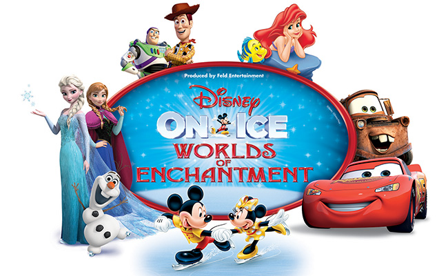 Disney On Ice: Worlds of Enchantment at Xcel Energy Center