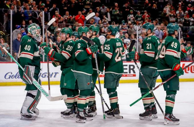 Minnesota Wild vs. New York Islanders at Xcel Energy Center