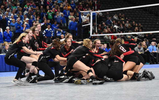 Minnesota State High School Volleyball Tournament at Xcel Energy Center
