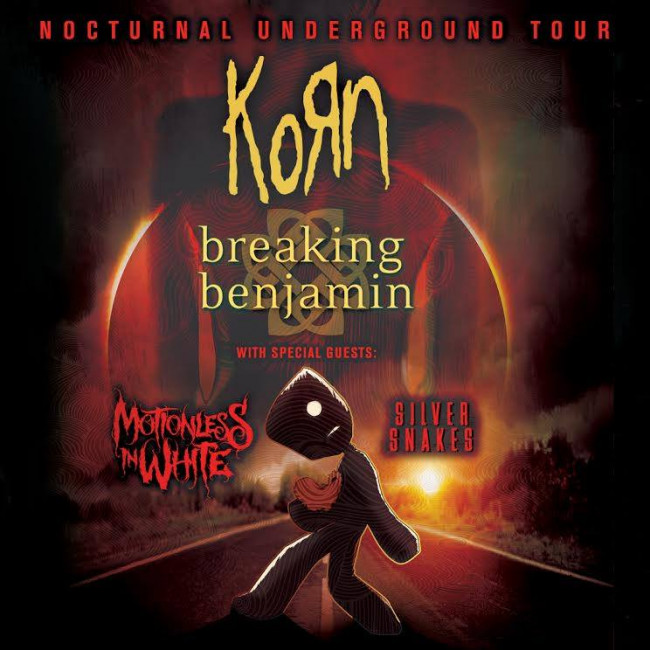 Korn & Breaking Benjamin  at Xcel Energy Center