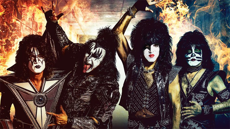 Kiss at Xcel Energy Center