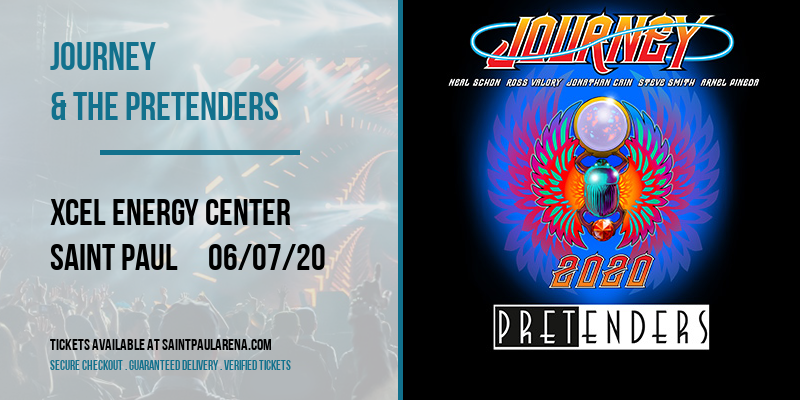 Journey & The Pretenders at Xcel Energy Center