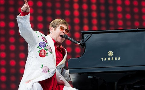Elton John at Xcel Energy Center