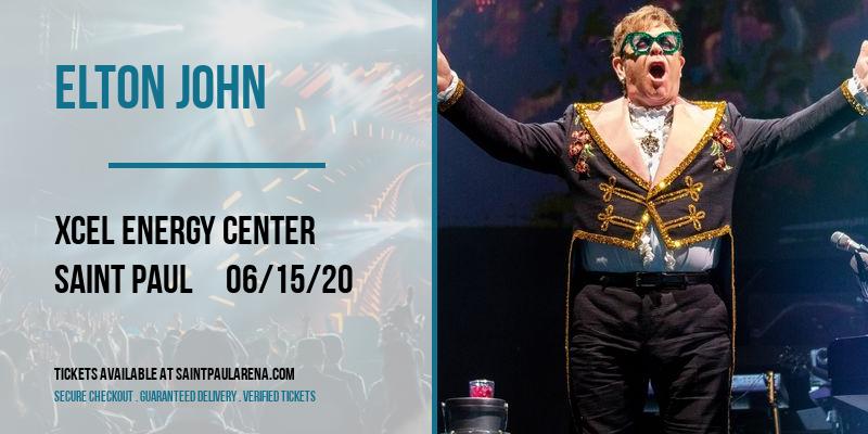 Elton John [POSTPONED] at Xcel Energy Center