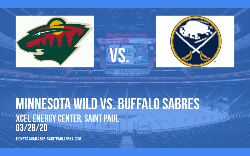 Minnesota Wild vs. Buffalo Sabres [POSTPONED] at Xcel Energy Center