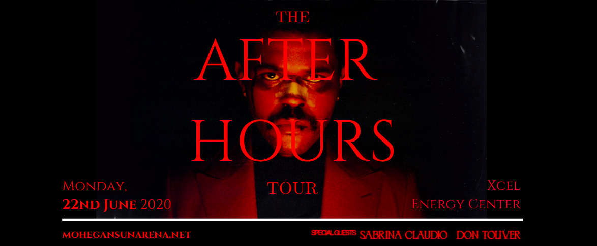 The Weeknd, Sabrina Claudio & Don Toliver at Xcel Energy Center