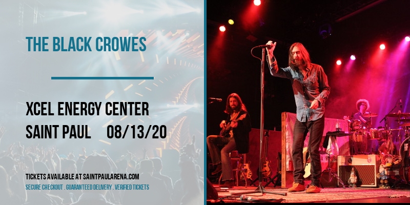The Black Crowes [POSTPONED] at Xcel Energy Center