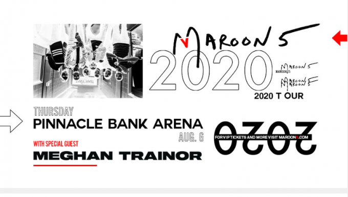 Maroon 5 & Meghan Trainor at Xcel Energy Center
