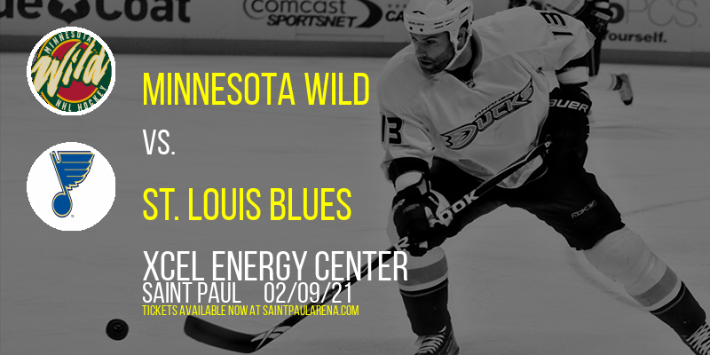 Minnesota Wild vs. St. Louis Blues at Xcel Energy Center