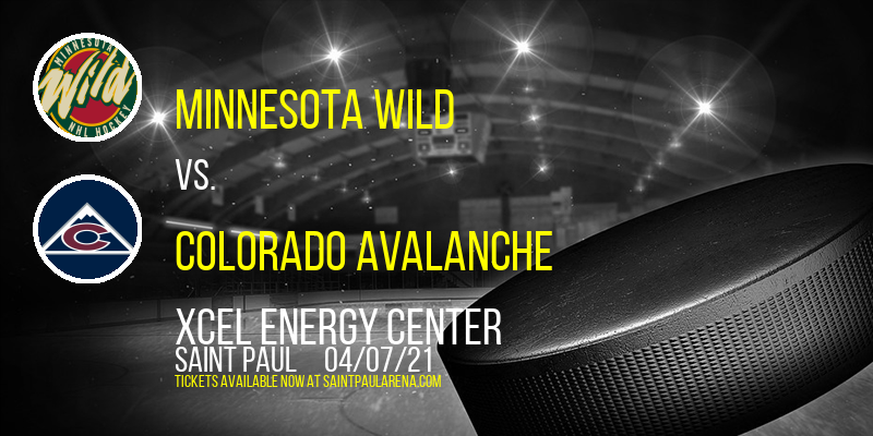 Minnesota Wild vs. Colorado Avalanche at Xcel Energy Center