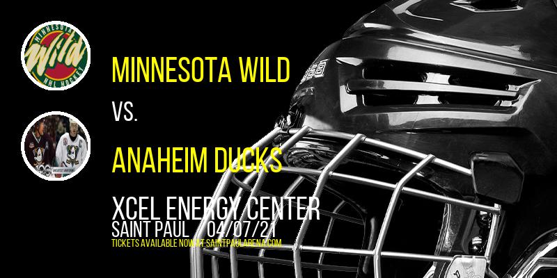 Minnesota Wild vs. Anaheim Ducks at Xcel Energy Center