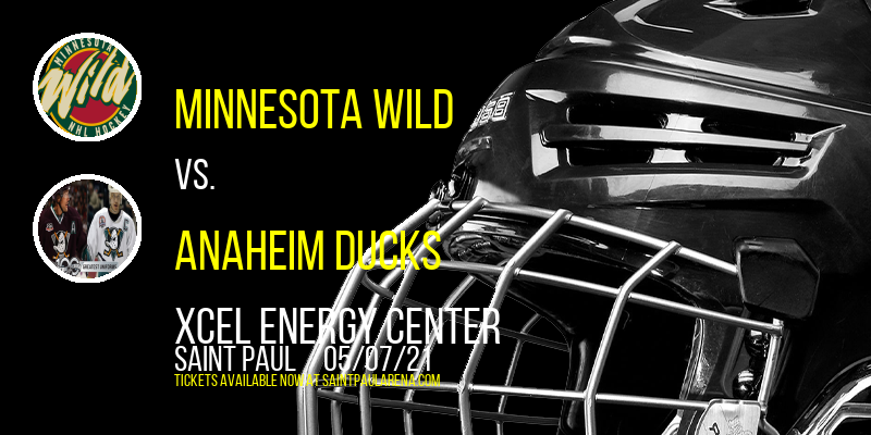 Minnesota Wild vs. Anaheim Ducks at Xcel Energy Center