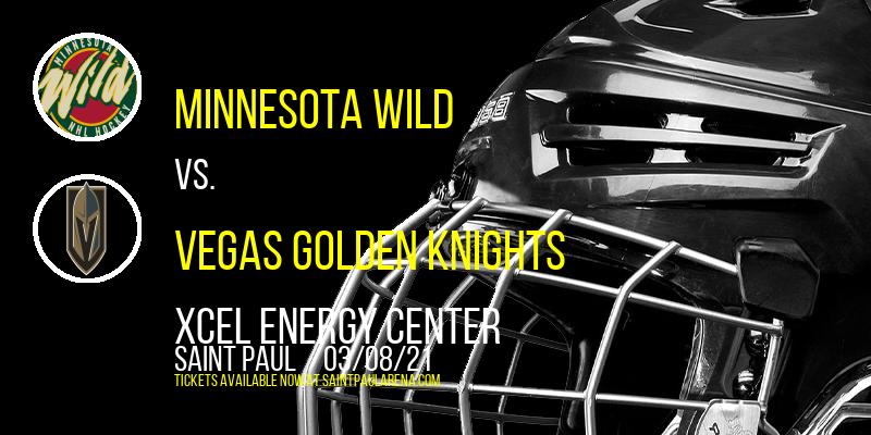 Minnesota Wild vs. Vegas Golden Knights at Xcel Energy Center