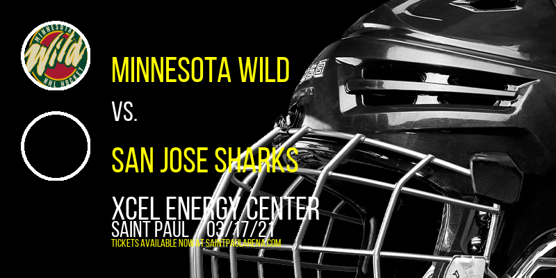 Minnesota Wild vs. San Jose Sharks [CANCELLED] at Xcel Energy Center