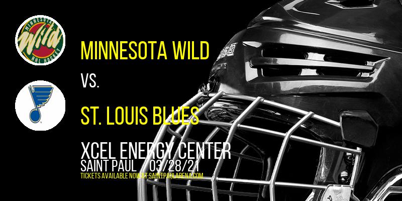Minnesota Wild vs. St. Louis Blues [CANCELLED] at Xcel Energy Center