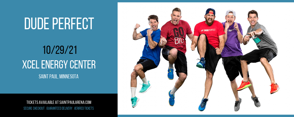 Dude Perfect at Xcel Energy Center