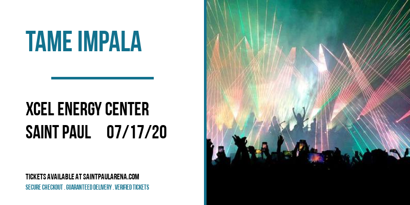 Tame Impala [CANCELLED] at Xcel Energy Center