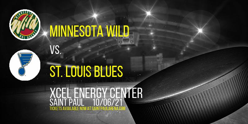 NHL Preseason: Minnesota Wild vs. St. Louis Blues at Xcel Energy Center