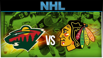Minnesota Wild vs. Chicago Blackhawks at Xcel Energy Center