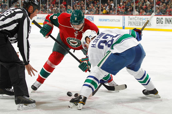 Minnesota Wild vs. Vancouver Canucks at Xcel Energy Center