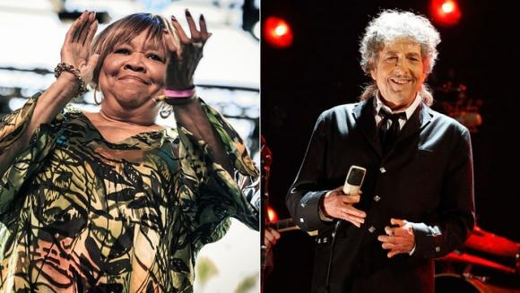 Bob Dylan & Mavis Staples at Xcel Energy Center