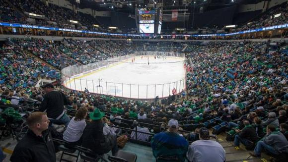NCHC Frozen Faceoff Semifinals at Xcel Energy Center