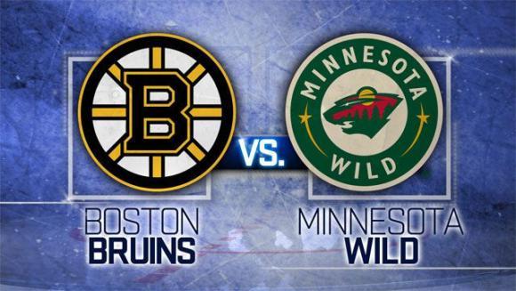Minnesota Wild vs. Boston Bruins at Xcel Energy Center