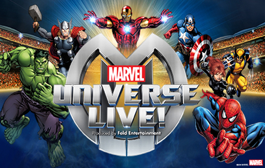 Marvel Universe Live! at Xcel Energy Center