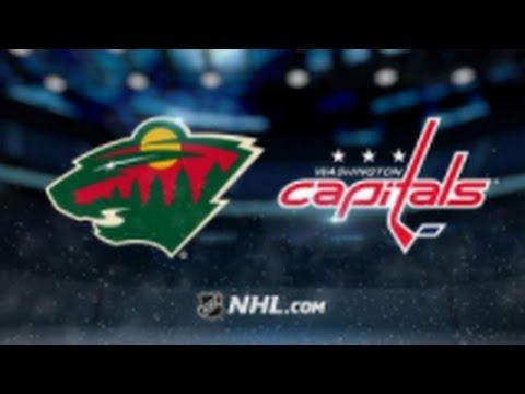 Minnesota Wild vs. Washington Capitals at Xcel Energy Center