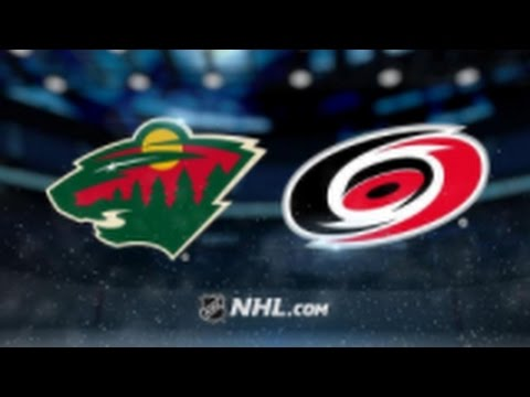 Minnesota Wild vs. Carolina Hurricanes at Xcel Energy Center