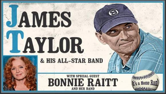 James Taylor and His All Star Band & Bonnie Raitt at Xcel Energy Center