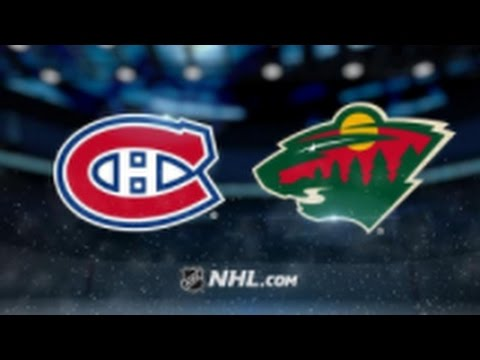 Minnesota Wild vs. Montreal Canadiens at Xcel Energy Center