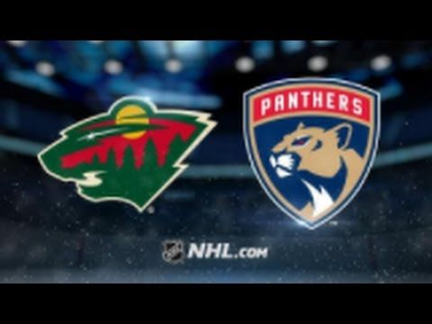 Minnesota Wild vs. Florida Panthers at Xcel Energy Center